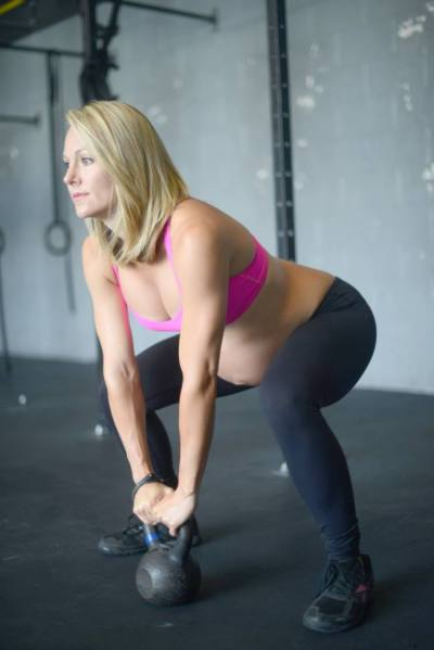 Pregnancy Kettlebell Workout